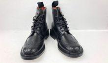トリッカーズ(Tricker's)靴修理事前補強