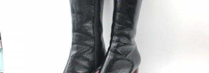 クリスチャンルブタン(Christian Louboutin)靴ミラーハーフソール修理