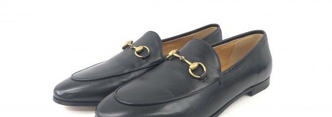 グッチ(GUCCI)靴底事前補強修理