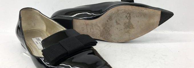 ジミーチュウ(JIMMY CHOO)靴修理つま先補強