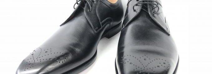 サントーニ(SANTONI)靴底補強