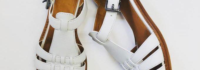 チャーチ(Church's) 靴修理事前補強