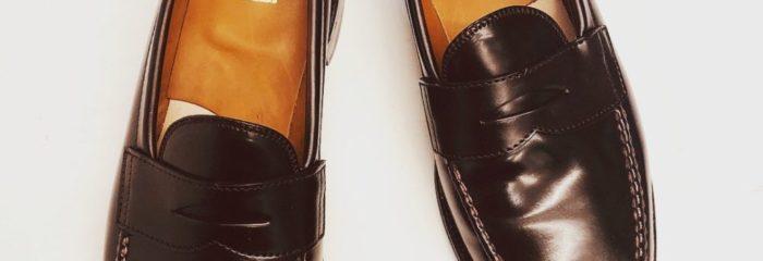 オールデン ALDEN 靴修理 ハーフソール