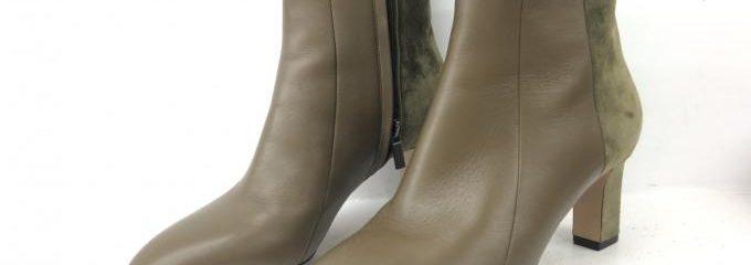 サルヴァトーレ フェラガモ (SALVATORE FERRAGAMO)ショートブーツ新品靴底事前補強修理