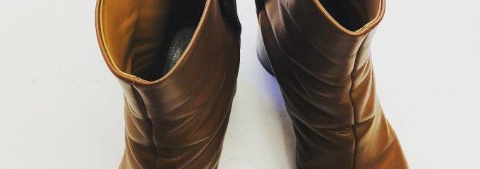 メゾンマルジェラ 足袋ブーツ靴底補強