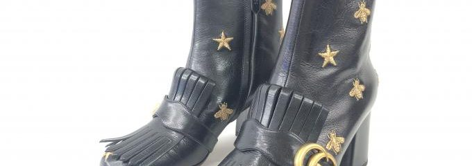 グッチ(GUCCI)靴修理事前補強修理