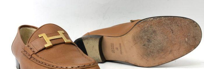 エルメス(HERMES)靴底補強