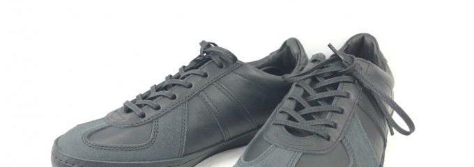 エンダースキーマ (Hender Scheme)ジャーマントレーナー新品靴底補強修理