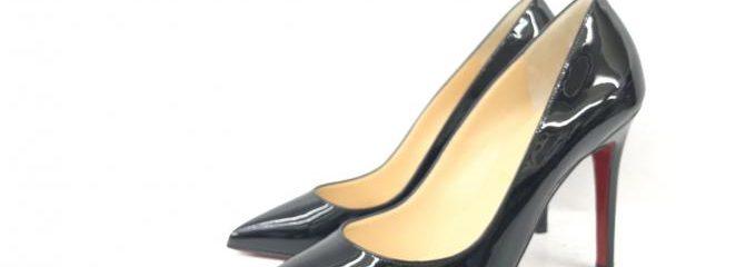 クリスチャン・ルブタン(Christian Louboutin)パンプス 新品靴底補強修理