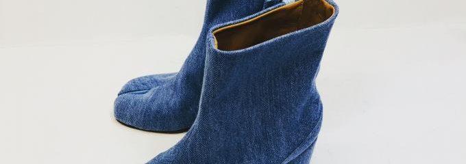 メゾンマルジェラ足袋ブーツ靴底補強