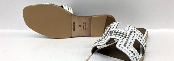 エルメス(HERMES)シルクシルク靴底修理