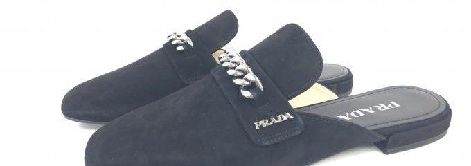 プラダ(PRADA)靴底事前補強修理