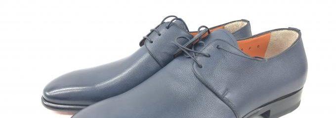 サントーニ(SANTONI)靴ハーフソール修理