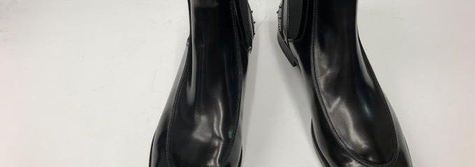 トッズ(TOD'S)ハーフソール靴修理事前補強