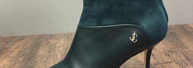 ジミーチュウ(JIMMY CHOO) Beyla アンクルブーツ 靴底補強修理