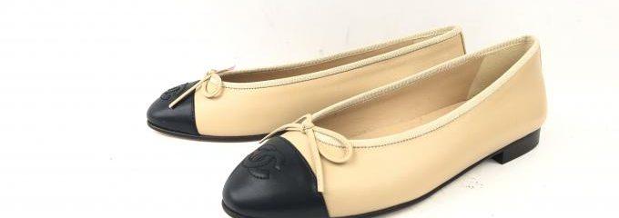 シャネル(CHANEL)新品靴底補強修理