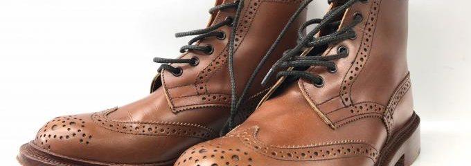 トリッカーズモールトン(MALTON)靴底修理