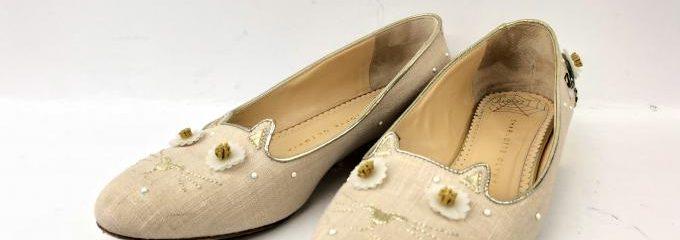 シャーロットオリンピア(Charlotte Olympia)靴ハーフソール修理