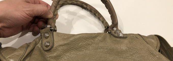 マノロブラニク(Manolo Blahnik)ベージュシルクハーフ靴補修修理