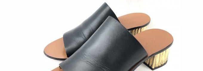 クロエ(Chloé)靴底事前補強修理