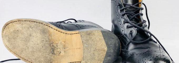 ポルセリ(E.PORSELLI)靴底滑り止め修理