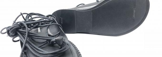 アン ドゥムルメステール(ANN DEMEULEMEESTER)靴底事前補強修理