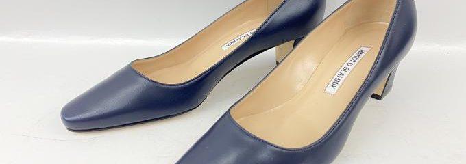 マノロブラニク(Manolo Blahnik)靴底事前補強