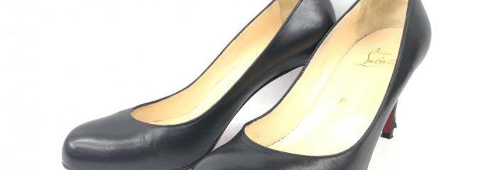 クリスチャン・ルブタン(Christian Louboutin)シンプルパンプス靴底補修修理