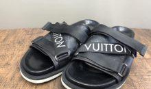 ルイ・ヴィトン(LOUIS VUITTON)メンズ ホノルルラインミュール靴底交換修理