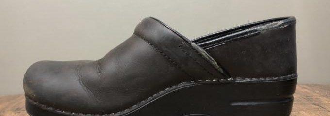 ダンスコ(DANSKO)プロフェッショナル パイピング交換+靴底補強修理