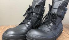 リックオウエンス(Rick Owens)ジオバスケット靴底事前補強