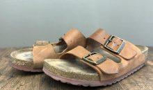 ビルケンシュトック(BIRKENSTOCK)アリゾナ純正靴底交換修理