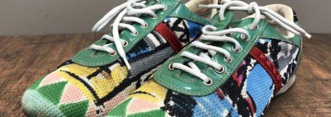 プラダ(PRADA )スニーカー 靴底交換修理