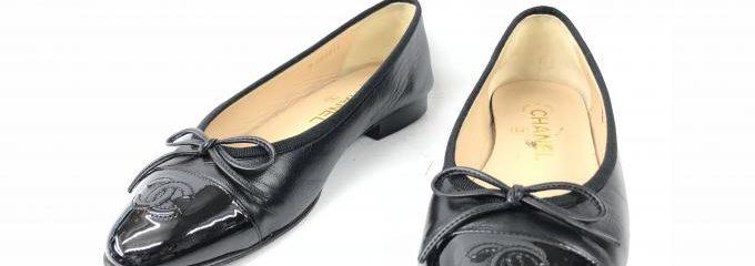 シャネル(CHANEL)事前補強靴修理