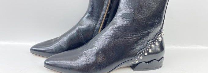 クロエ(Chloé)ブーツ靴底補強