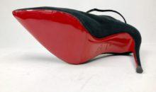 クリスチャン・ルブタン(Christian Louboutin)ミラーハーフラバー 靴修理・メンテ