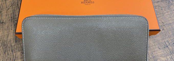 エルメスアザップ財布カラー補色