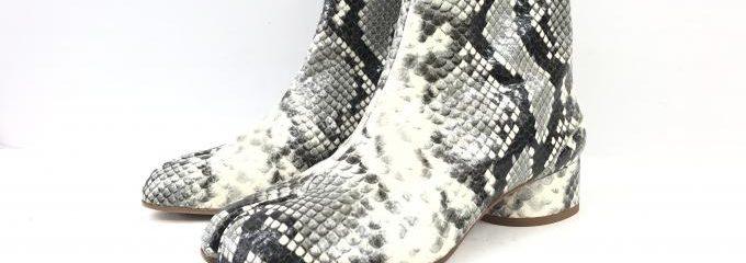 メゾン マルジェラ(Maison Margiela)足袋シューズハーフソール事前補強修理