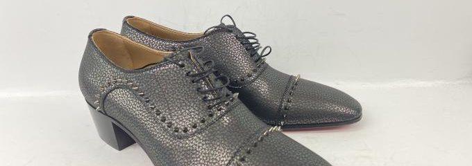 クリスチャンルブタン(Christian Louboutin)新品靴底補強修理