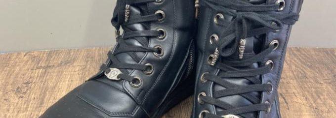 リックオウエンス×クロムハーツ(RickOwens×Chrome Hearts)靴底交換修理