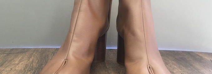 メゾン マルジェラ(Maison Margiela)足袋ブーツハーフソール修理