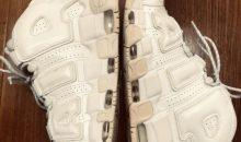 ナイキ (NIKE)モアアップテンポ 靴底黄ばみ落とし修理