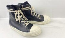 リックオウエンスラモーンズレザー(Rick Owens)ビブラム342靴底交換
