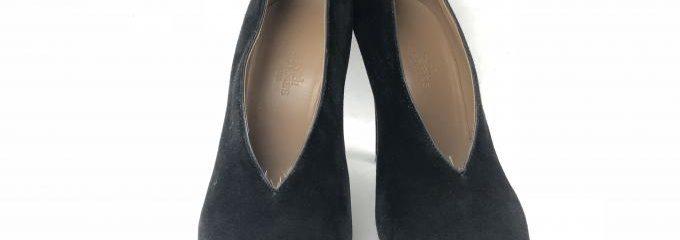 エルメス(HERMES)靴修理ミラーハーフラバー