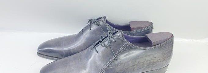 ベルルッティ (Berluti)カリグラフィー事前靴底補強