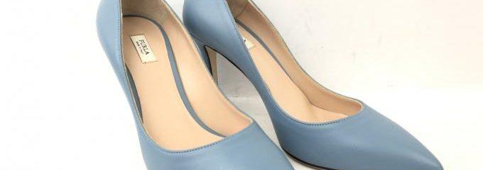 フルラ ( FURLA)ブロガーパンプス新品靴底補強修理