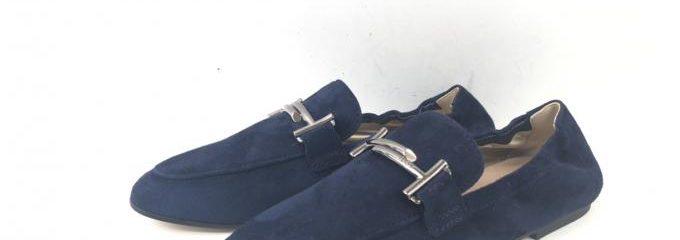 トッズ(TOD'S)新品靴底補強修理
