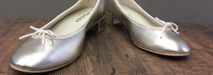 レペット(Repetto )ルー事前靴底補強修理