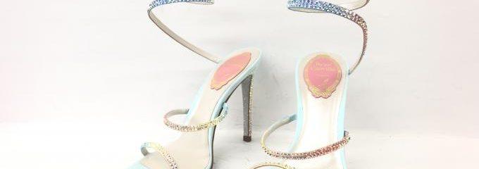 レネカオヴィラ(Rene Caovilla )靴 ハーフソール修理