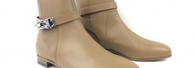 エルメス(HERMES)靴 ハーフソール修理